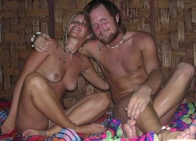Coppia di hippie