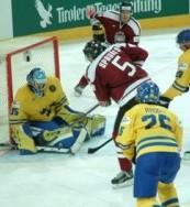 hockey violento su ghiaccio