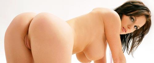 una bella ragazza nuda