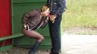Sesso alla fermata del bus