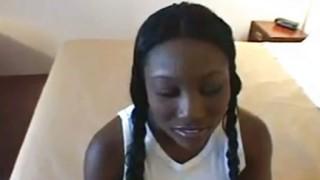 Sesso con teenager nera bellissima